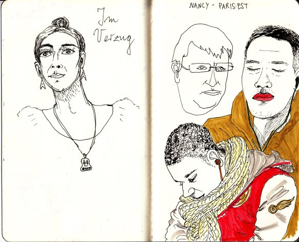 Louveau_train_sketches_sleepers